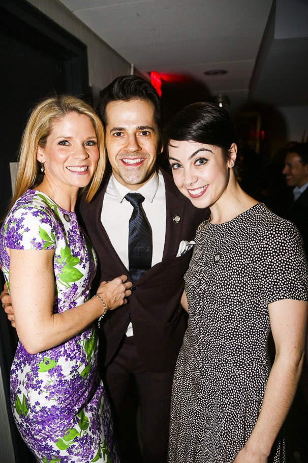 Tony Nominees - Brunch - 4/15 - Kelli O'Hara - Robert Fairchild - Leanne Cope