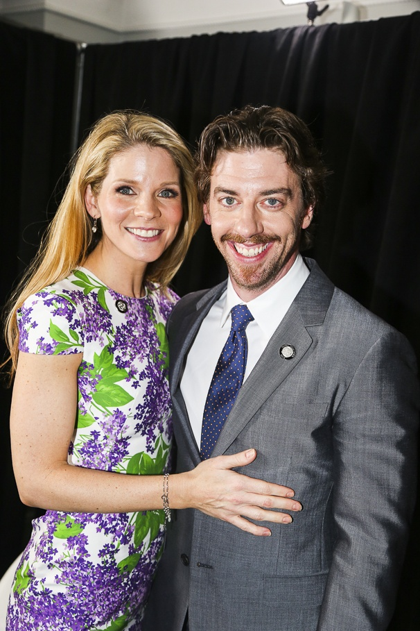 Tony Nominees - Brunch - 4/15 - Kelli O'Hara - Christian Borle