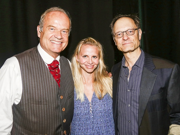 Finding Neverland - Bakcstage - 6/15 - Kelsey Grammer - Kayte Walsh -  David Hyde Pierce