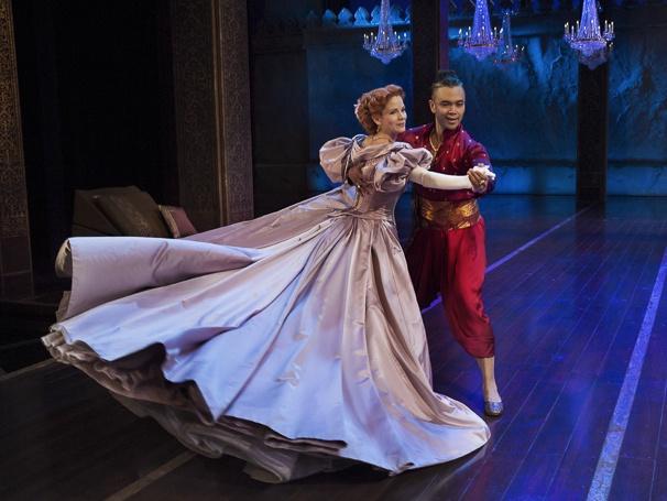 The King and I - Show Photos - 7/15 - Kelli O'Hara - Jose Llana