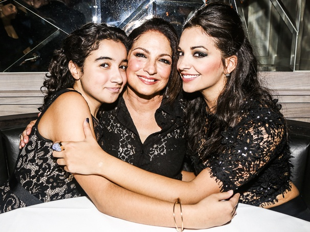 Viva Broadway - Benefit Concert - Gloria Estefan - Miami Sound Machine - 9/15 - Alexandria Suarez, Gloria Estefan and Ana Villafane