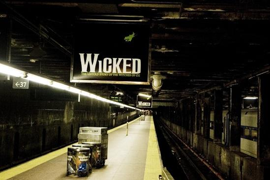 Wicked Grand Central – wicked sign