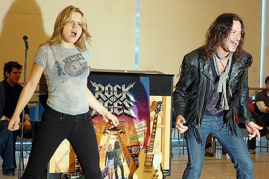 Rock of Ages Meet and Greet – Amy Spanger – Constantine Maroulis