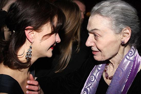 Blithe Spirit Opening Night – Susan Louise O'Connor – Marian Seldes