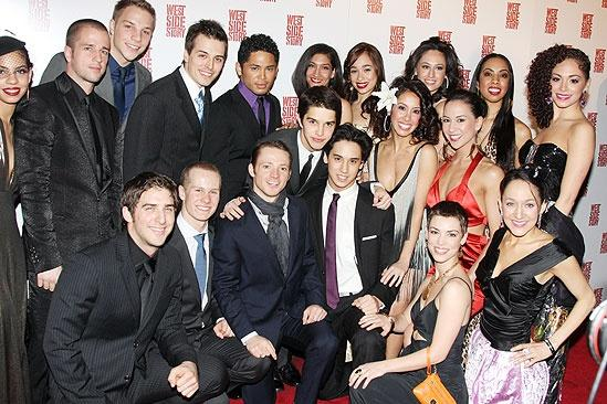 West Side Story opening – group