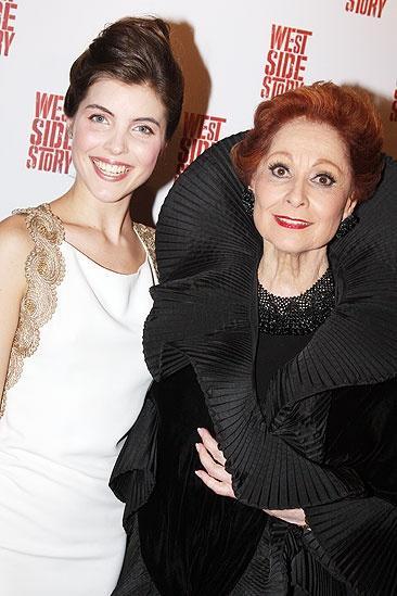 West Side Story opening – Josefina Scaglione - Carol Lawrence2