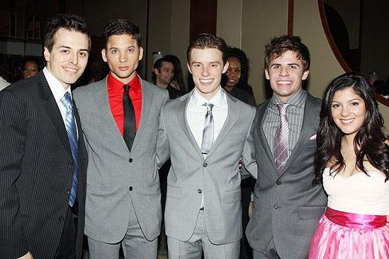 West Side Story opening – Mike Cannon – Peter Chursin - Sam Rogers – Chase Madigan – Hayley Carlucci