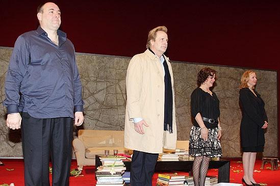 God of Carnage Opening Night – James Gandolfini – Jeff Daniels – Marcia Gay Harden – Hope Davis
