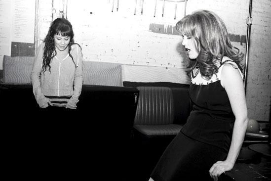 Girls in Jersey Boys – Sara – Bridget singing