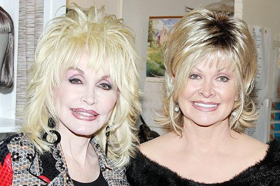 photo 1 of 4 dolly parton and sis make 9