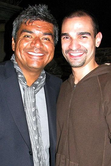 George Lopez at In the Heights – George Lopez – Javier Muñoz