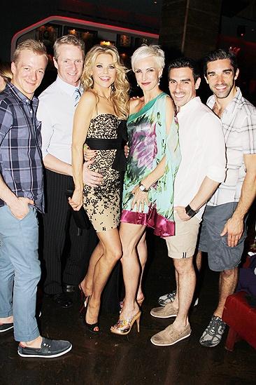 Brinkley Party –  Ryan Worsing - Brian O'Brien – Christie Brinkley – Amra-Faye Wright – Brian Spitulnik – Peter Nelson