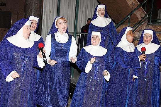 <i>Sister Act</I> at Macy's – Marla Mindelle – Marissa Perry