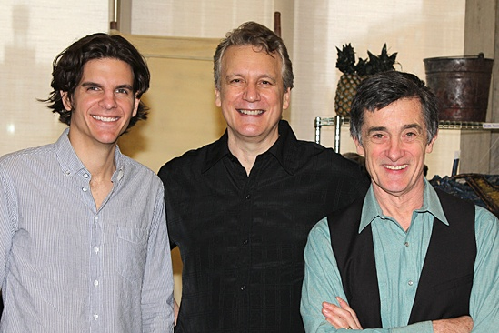 Peter and the Starcatcher Meet and Greet – Alex Timbers – Rick Elice – Roger Rees