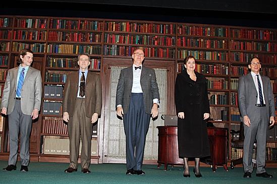 The Columnist Opening Night – Brian J. Smith – Boyd Gaines – John Lithgow – Margaret Colin – Stephen Kunken