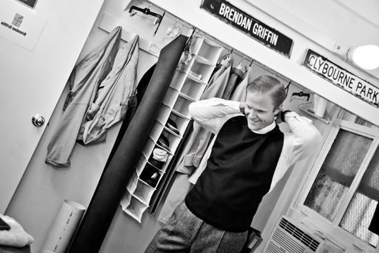 Backstage at Clybourne Park – Brendan Griffin