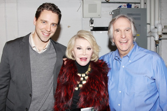 The Performers – preview opening – David West Read – Joan Rivers – Henry Winkler