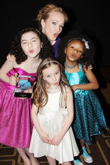 2013 Audience Choice Awards- Lilla Crawford- Katie Finneran- Emily Rosenfeld- Tyrah Skye Odoms