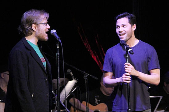 If/Then - concert - OP - Anthony Rapp - Jason Tam
