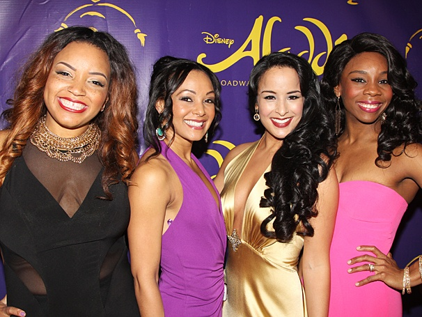 Aladdin - Opening - OP - 3/14 - Marisha Wallace - Tia Altinay - Courtney Reed - Khori Michelle Petinaud