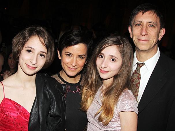 Of Mice and Men - Opening - OP - 4/14 - Anna Shapiro - David Shapiro - Nieces Julia - Sophie