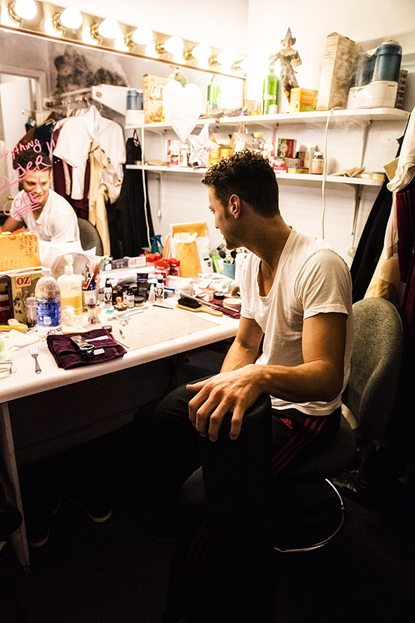 Wicked - Backstage - 8/14 - Justin Guarini