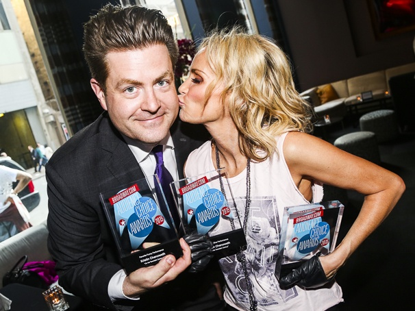 Broadway.com - Audience Choice Awards - 5/15 - Paul Wontorek - Kristin Chenoweth