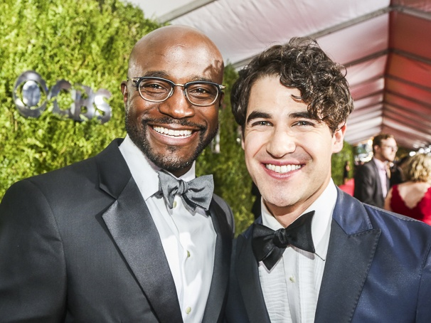 The Tony Awards - 6/16 - Taye Diggs - Darren Criss