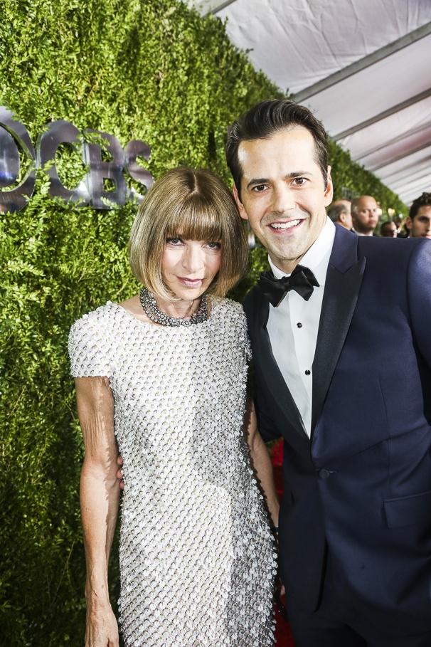 The Tony Awards - 6/16 - Anna Wintour - Robert Fairchild