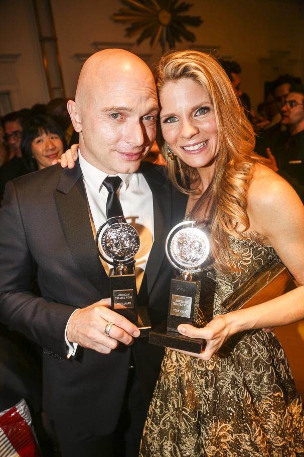 The Tony Awards - 6/15 - Michael Cerveris - Kelli O'Hara