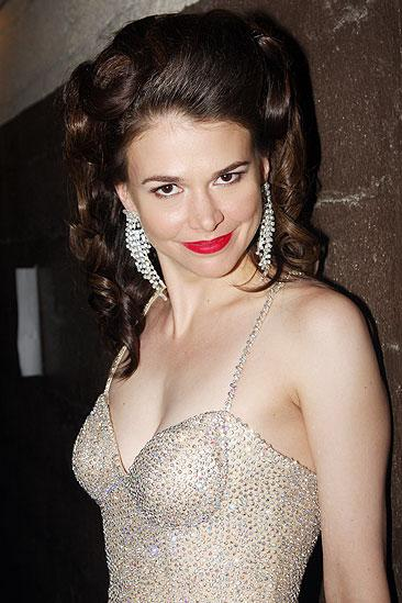 2009 Broadway Bares - Sutton Foster - backstage