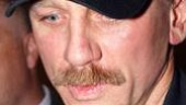 A Steady Rain First Preview Stage Door - Daniel Craig (hat)