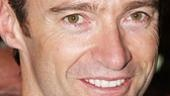 A Steady Rain First Preview Stage Door - Hugh Jackman (smiling)