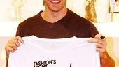 Hugh Jackman Fashion Night Out - Hugh Jackman with Shirt