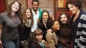 Swenson and Creel at Sardi's – Lauren Elder – Hannah Shankman – Ato Blankson-Wood – Allison Guinn – Kaitlin Kiyan – Maya Sharpe – Paris Remillard – John Moauro