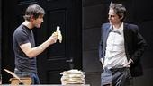 Show Photos - The Understudy - Mark-Paul Gosselaar - Justin Kirk (banana)