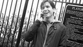 A Day in the Life with Matt Doyle - Matt Doyle on phone