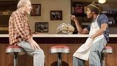Michael McKean as Arthur Przybyszewski and Jon Michael Hill as Franco Wicks in Superior Donuts.