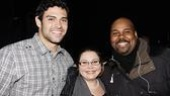 Mark Sanchez at Memphis - Mark Sanchez - Juliana Hannett - James Monroe Iglehart