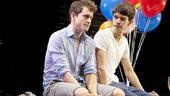Hugh Dancy as Philip and Ben Whishaw as Oliver in The Pride.