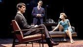 Ben Whishaw as Oliver, Hugh Dancy as Philip and Andrea Riseborough as Sylvia in The Pride.