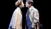 Andrea Riseborough as Sylvia and Hugh Dancy as Philip in The Pride.