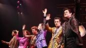 Million Dollar Quartet Opening – Cast - bow