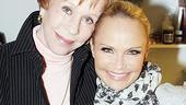 Burnett & Mullally at Promises, Promises – Carol Burnett – Kristin Chenoweth