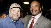 Nominees Stephen McKinley Henderson (Fences) and David Alan Grier (Race) form a mutual admiration society.