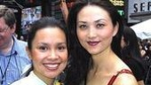 "Flower Drum Song stars Lea Salonga and Sandra Allen, who performed ""I Enjoy Being a Girl."""