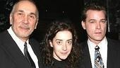 The leads of Match arrive at Metronome:Frank Langella, Jane Adams and Ray Liotta.