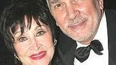 Honoree Chita Rivera visits with Frank Langella.