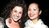 Tony twosome: Marissa Jaret Winokur and Lea Salonga.
