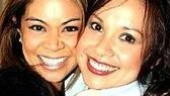 Best friends (and former co-stars in Miss Saigon and Flower Drum Song) Charlene Carabeo and Lea Salonga.